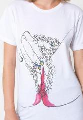 Skandal T-Shirt – Vagina, Periodenblut und Masturbation